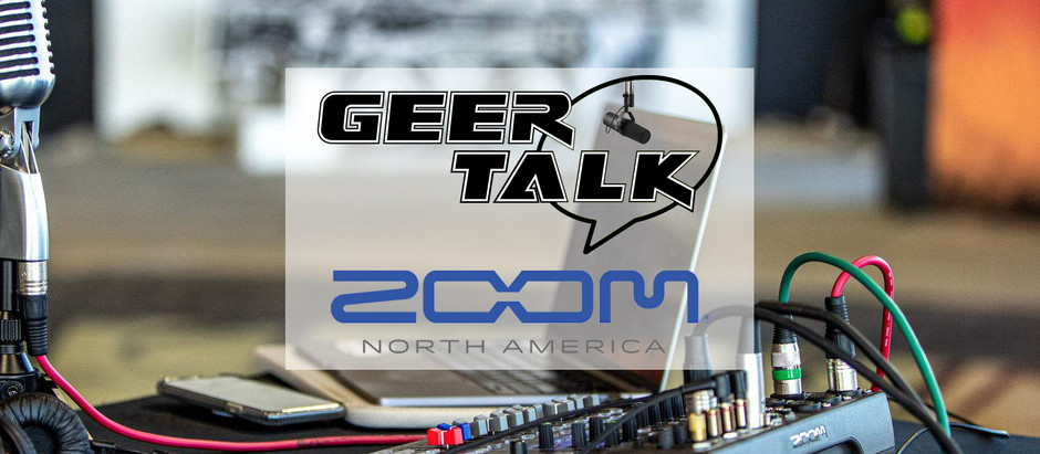 Geer Talk Live Stream with Zoom!