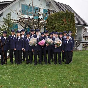 Veteranenehrung 2019 Wollerau (Max-Sabine-Othmar)