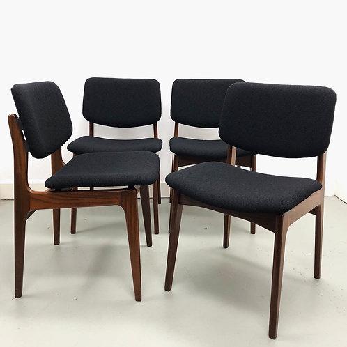 Louis van Teeffelen set van 4 stoelen