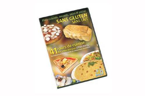 DVD 41 recettes sans gluten & sans lait