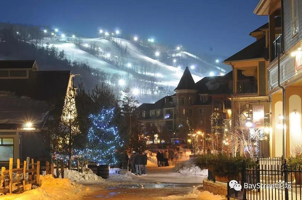 贝街活动 寒冬暖心蓝山滑雪两日游