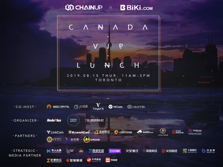 ChainUP and BiKi Bring Toronto Community Together