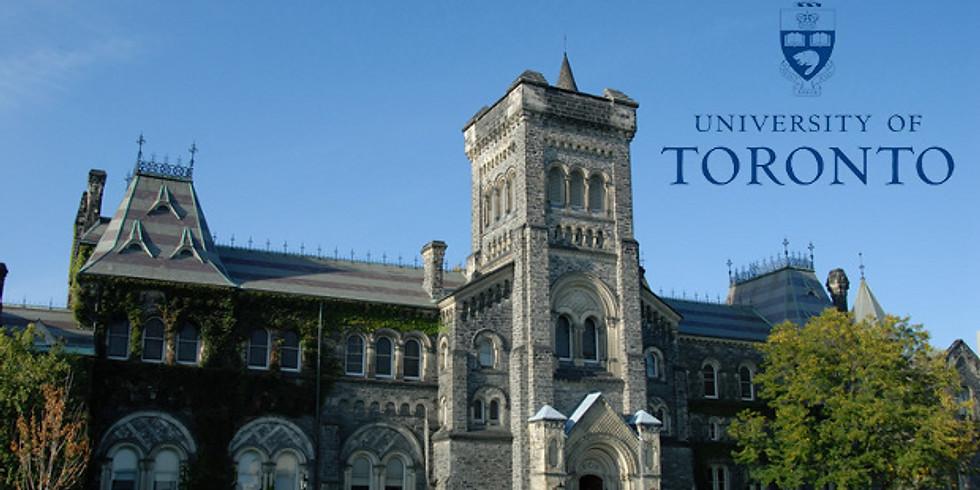 贝街2020/2021校友团系列回归职业巡讲— University of Toronto