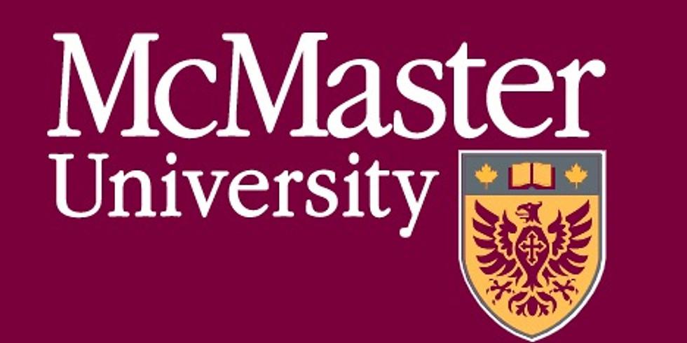 贝街2020/2021校友团系列回归职业巡讲— McMaster University