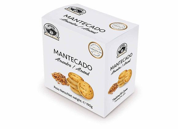 MANTECADO ALMENDRA 190g / Caja (10 Unidades)