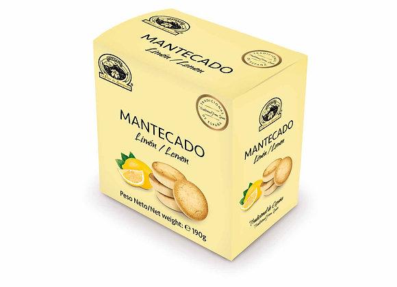 MANTECADO LIMON 190g / Caja (10 Unidades)