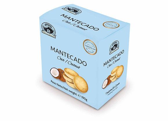 COCONUT MANTECADO 190g / Box (10 Units)