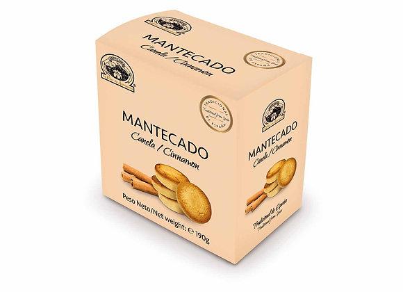 MANTECADO CANELA 190g / Caja (10 Unidades)