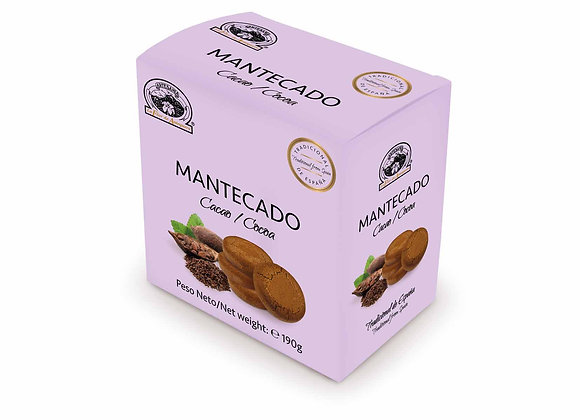 MANTECADO CACAO 190g / Caja (10 Unidades)