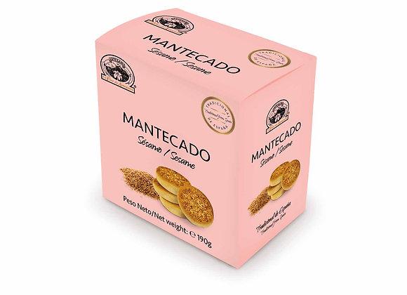 MANTECADO SESAMO 190g / Caja (10 Unidades)