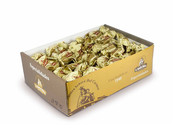 POLVORON BAÑO CHOCOLATE BLANCO 5Kg