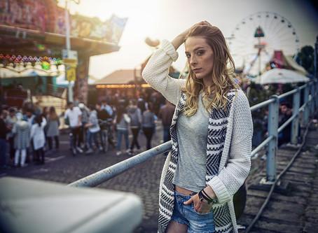 Street mit Chantal