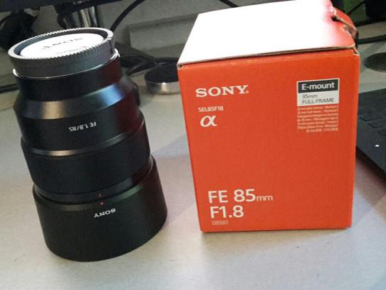 Sony SEL85F18