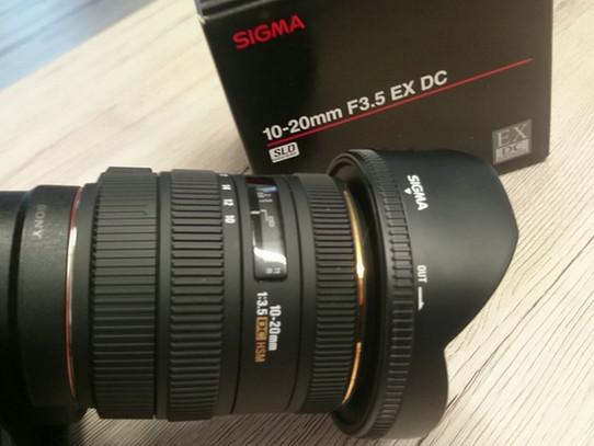 Sigma 10-20mm F3.5 EX DC