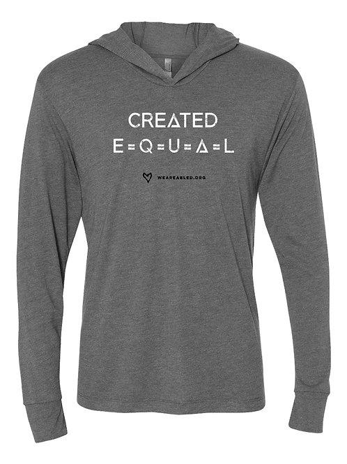 CREATED EQUAL Long-Sleeve T Hoodie