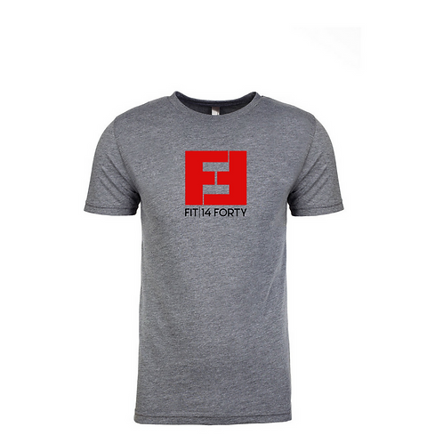 Fit14Forty Grey T-Shirt - Mens