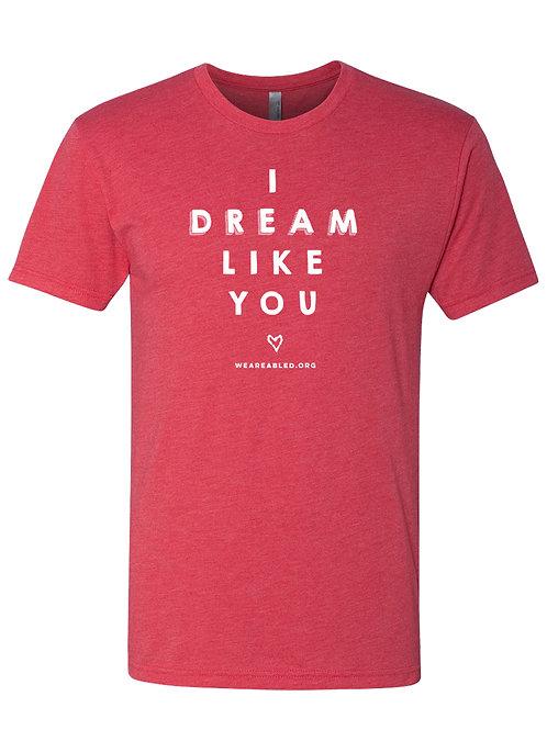 I DREAM Vintage Red T