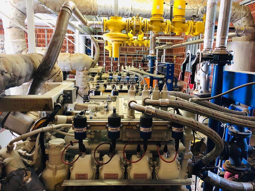 Blockheizkraftwerk BHKW Motorkühlkreis