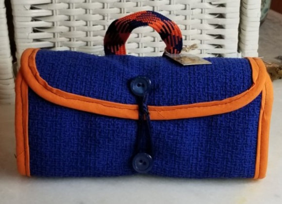 Pack-it Pouch #PP-4 -Blue & Orange