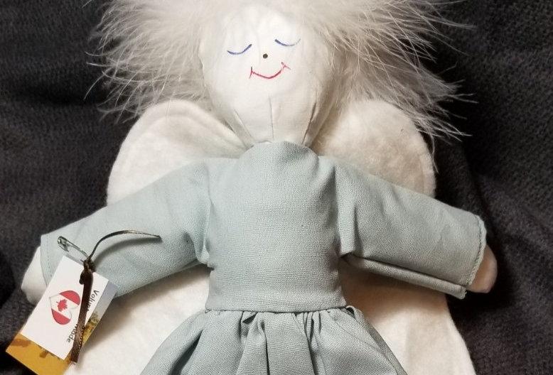 Angel Soft Doll  - Blue