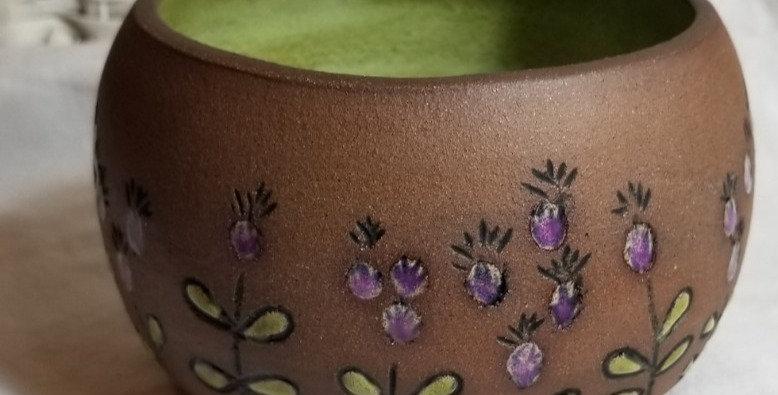 Cactus Flower Bowl