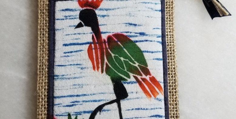 Bookmark/Ornament - Walking Crane