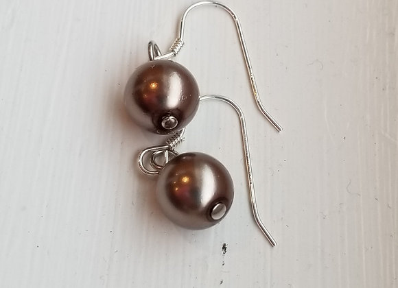 #E-11 - Taupe Glass Pearl