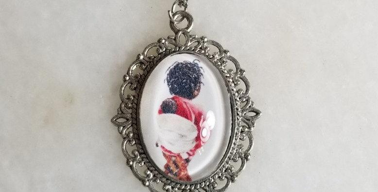 """Necklace  - Ornella/Silver- 18"""""""