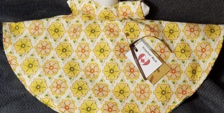 Topsy Turvy Doll - Yellow Flower/Green Flower