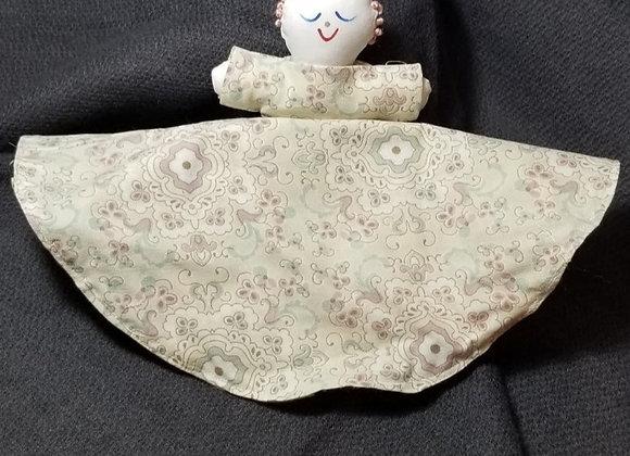 Topsy Turvy Doll-Cream/Strawberry