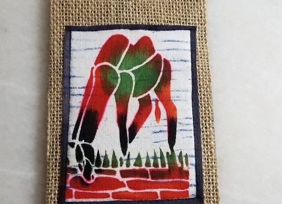 Bookmark/Ornament - Grazing Horse