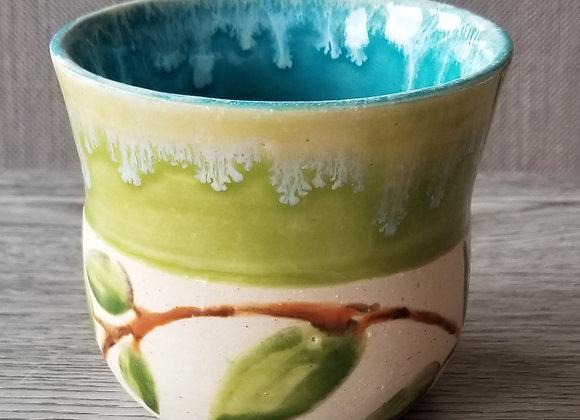 #P15 - Green Leaf Small Pot