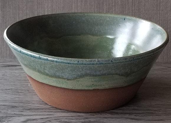 #P138 - Blue & Green Cinnamon Bowl