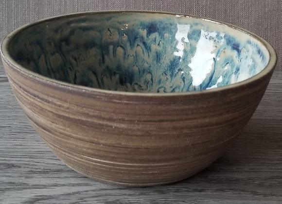 #P107 - Chocolate Swirl Bowl