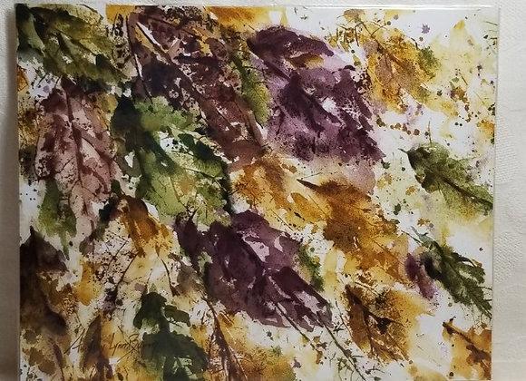 Photo Print 8x10 #FPE-4 - Leaves