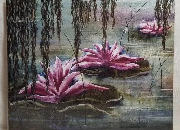 Photo Print 8x10 #FPE-3 - Waterlilies