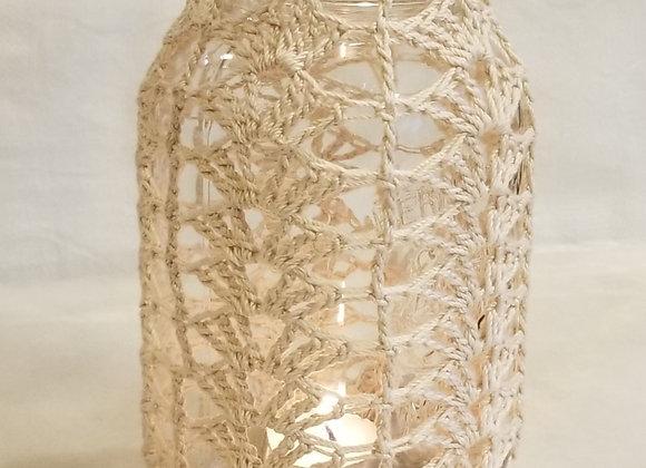 Luminaire Crocheted #KC-40 - Ecru