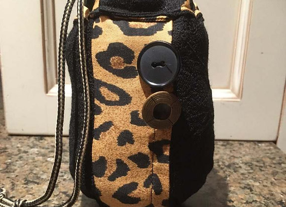 Stuff-It Packet Pouch #PP-12 - Leopard Print & Black