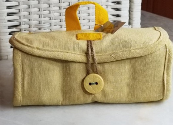 Pack-it Pouch #PP-7 - Yellow Canvas