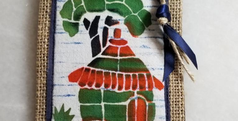 Bookmark/Ornament - African Hut