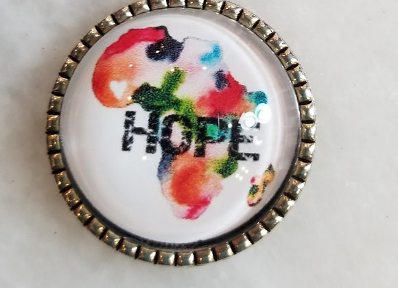 Necklace - Hope on Africa - Multi 18""
