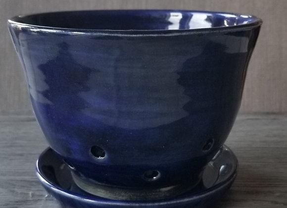 #P113 - Cobalt Berry Bowl