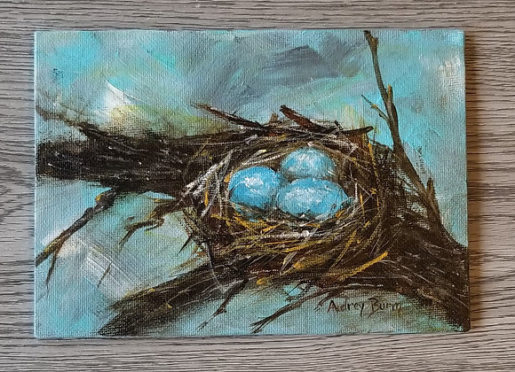 #APS-01 - Nest - Original Acrylic Painting