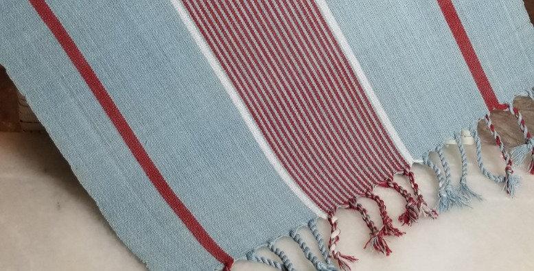 Weaving - Blue/Red/White