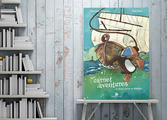 Mon carnet d'aventures Saint-Pierre et Miquelon
