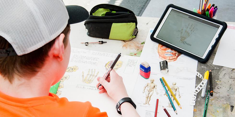 Steampunk Mask Online Workshop for Teens