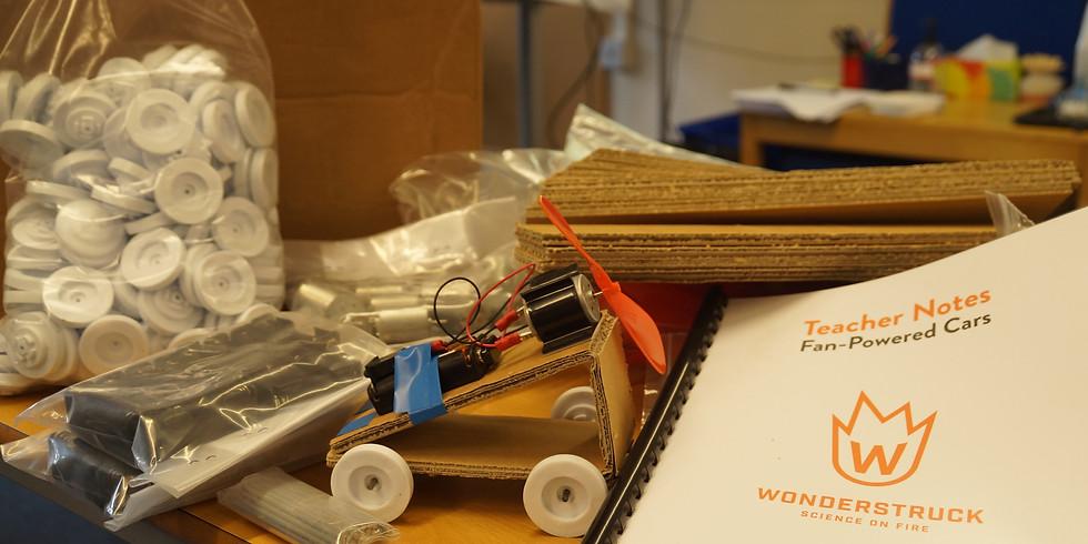 Fan Power Car Workshop  11.00