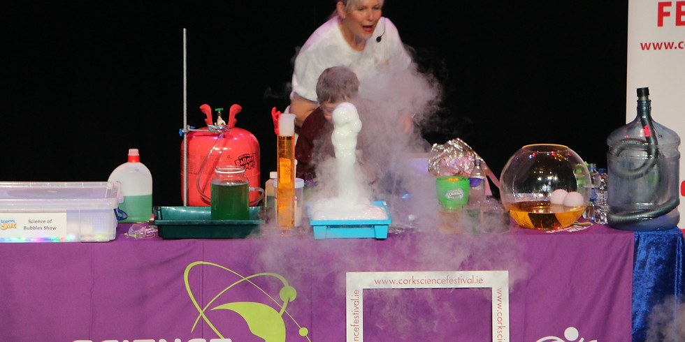 Science of Bubbles Show (9.30)
