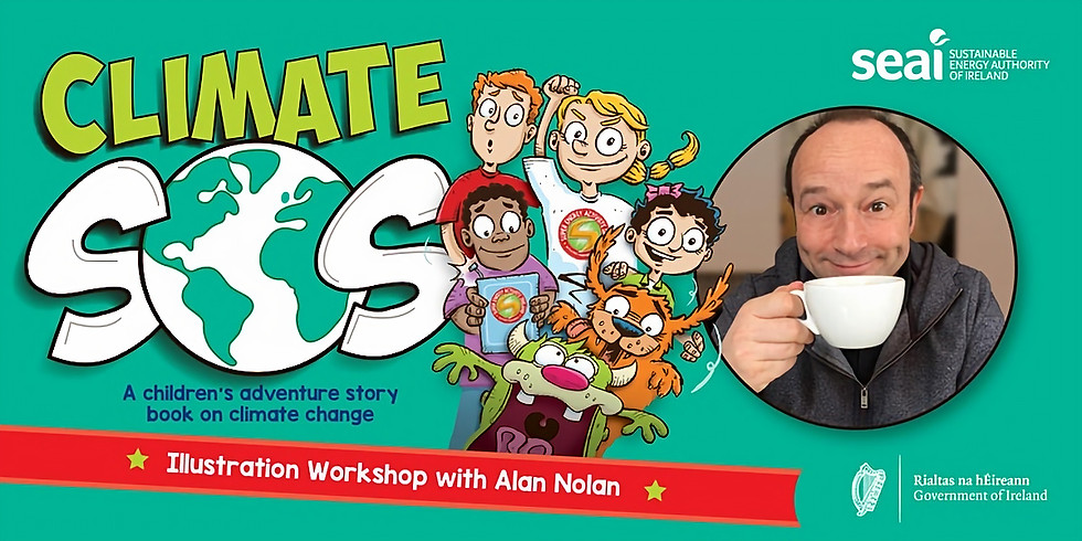 SEAI Creative Illustration Workshop with Alan Nolan