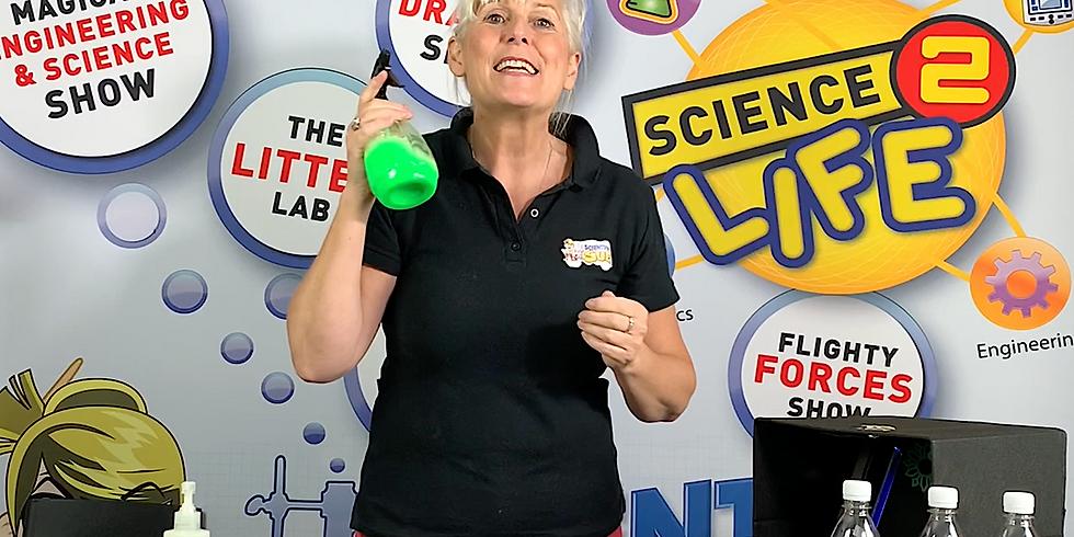 Bouncing Bubbbles Investigation with Scientific Sue
